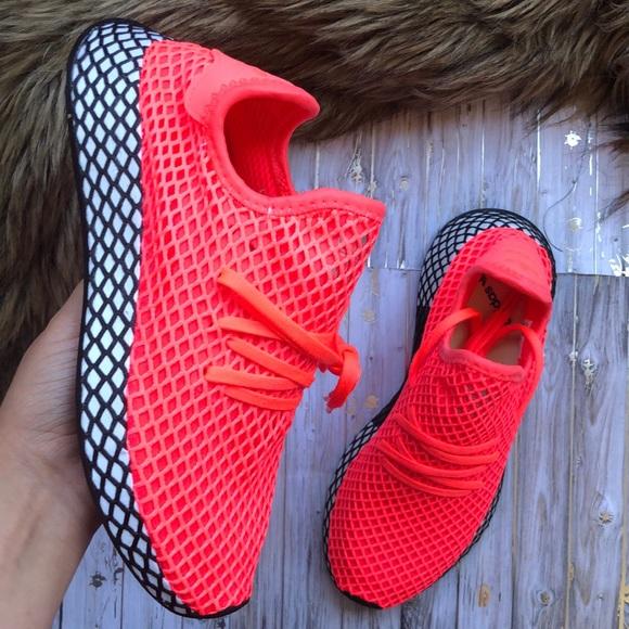Adidas Deerupt Runner J Bright Neon